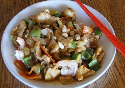 Moo Goo Gai Pan (Chicken Vegetables)